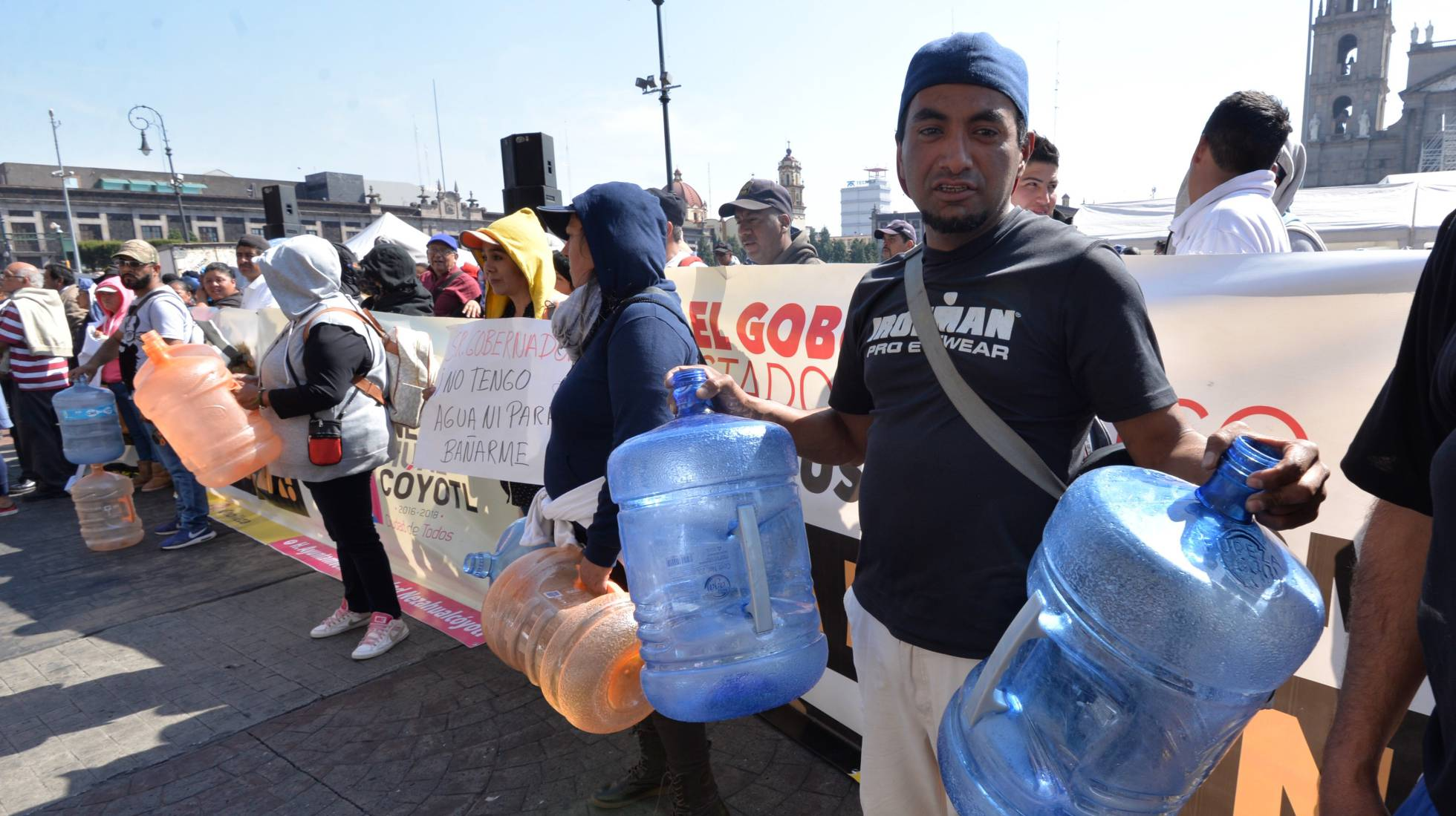 Millones de mexicanos reciben 2018 sin agua