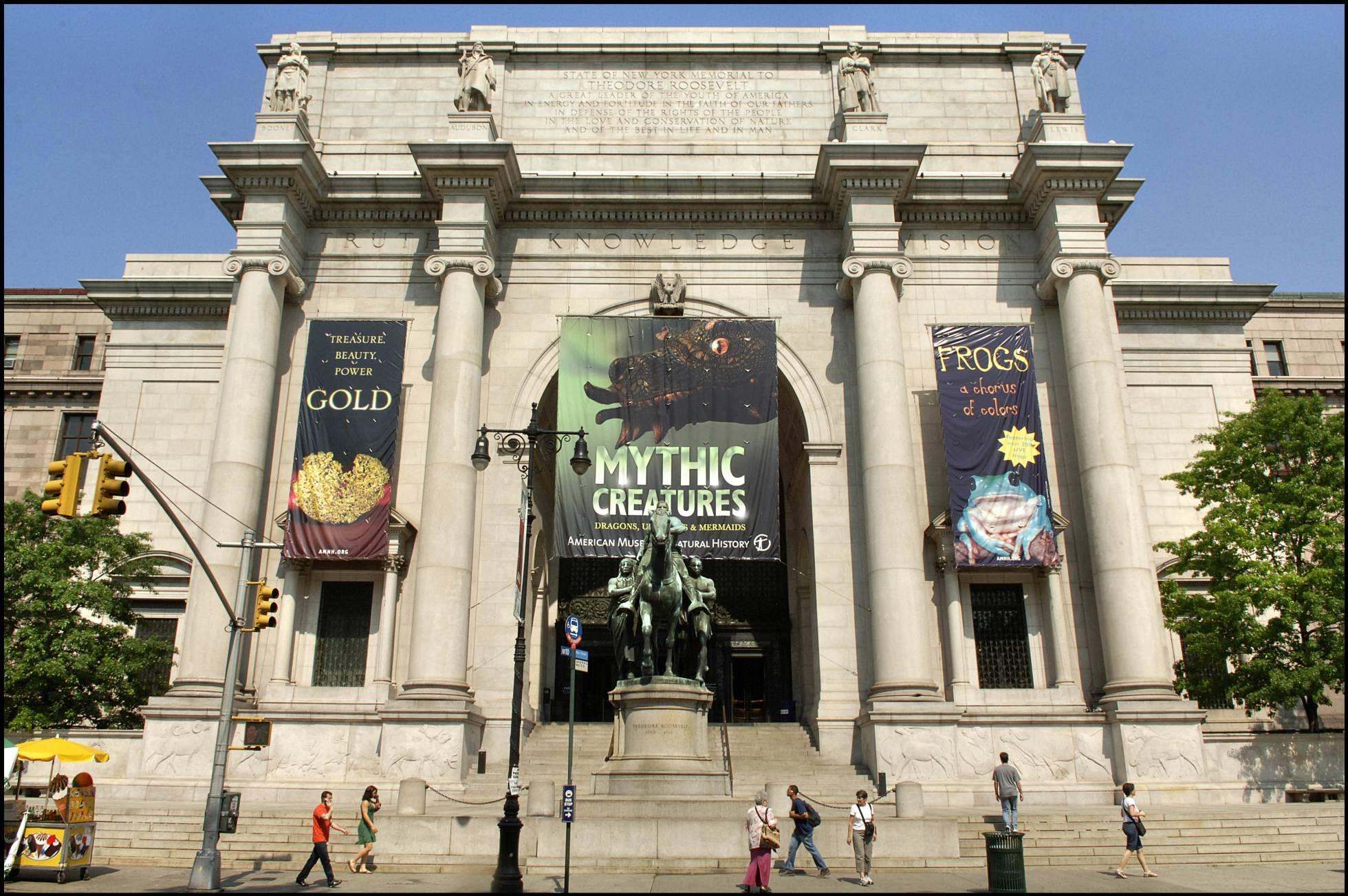 Polémica en el Museo de Historia Natural de Nueva York al negar una responsable el cambio climático
