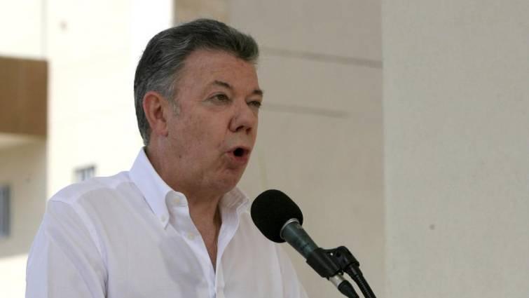 presidente santos colombia