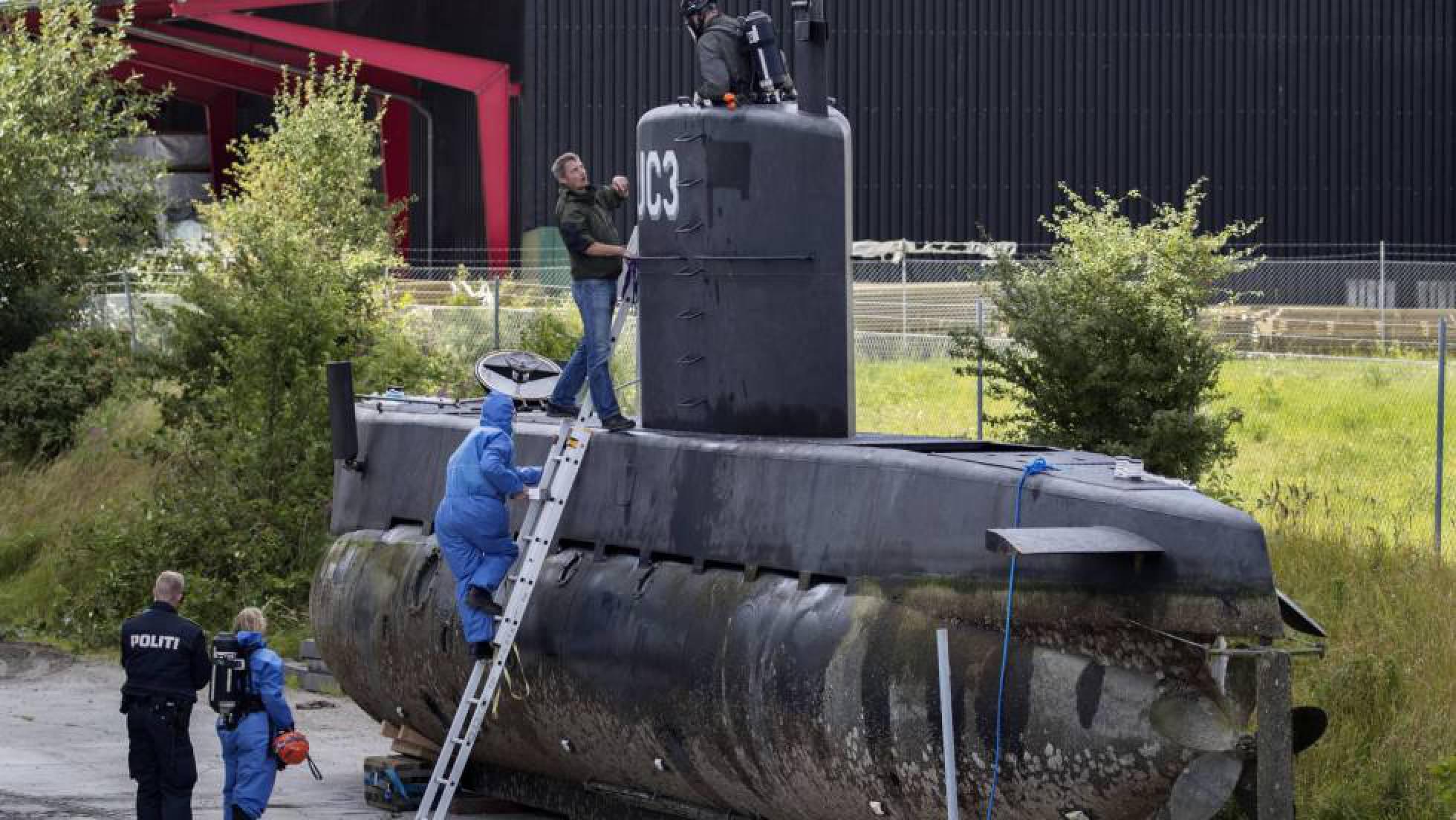 La Fiscalía danesa acusa al inventor de submarinos de torturar a la periodista sueca antes de matarla