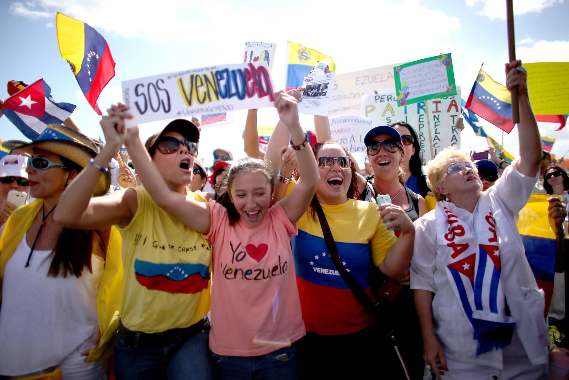 manifestacion contra chavismo