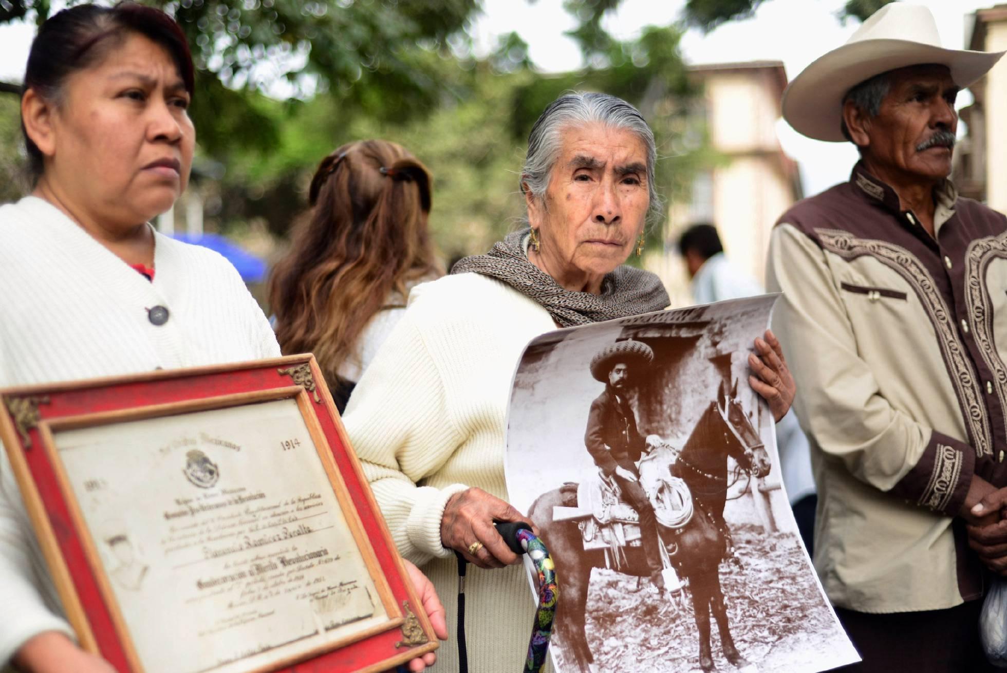 Descendientes de la Revolución Mexicana exigen el pago de pensiones