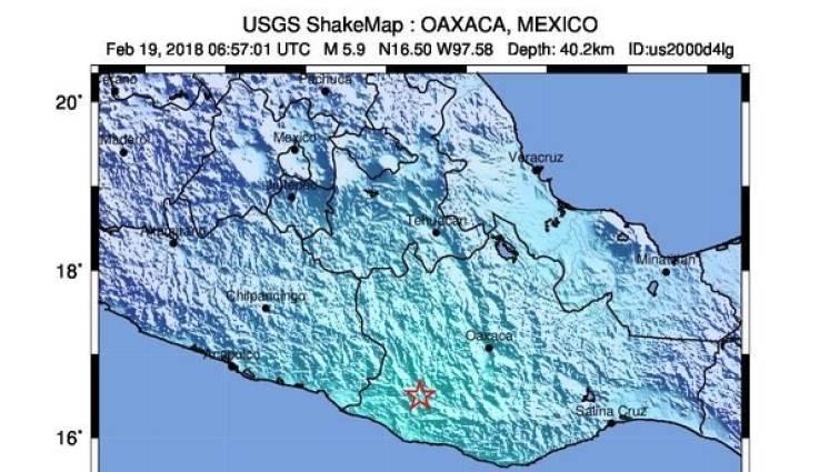 mapa sismo sur de