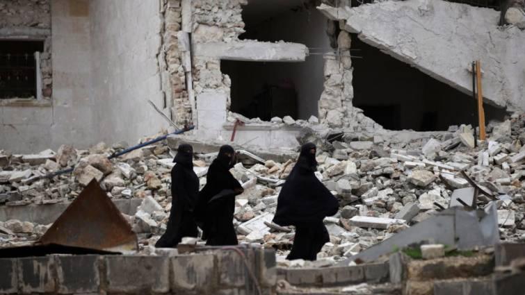 Mujeres sexualmente explotadas en Siria a cambio de ayuda