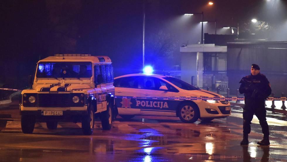policia en montenegro