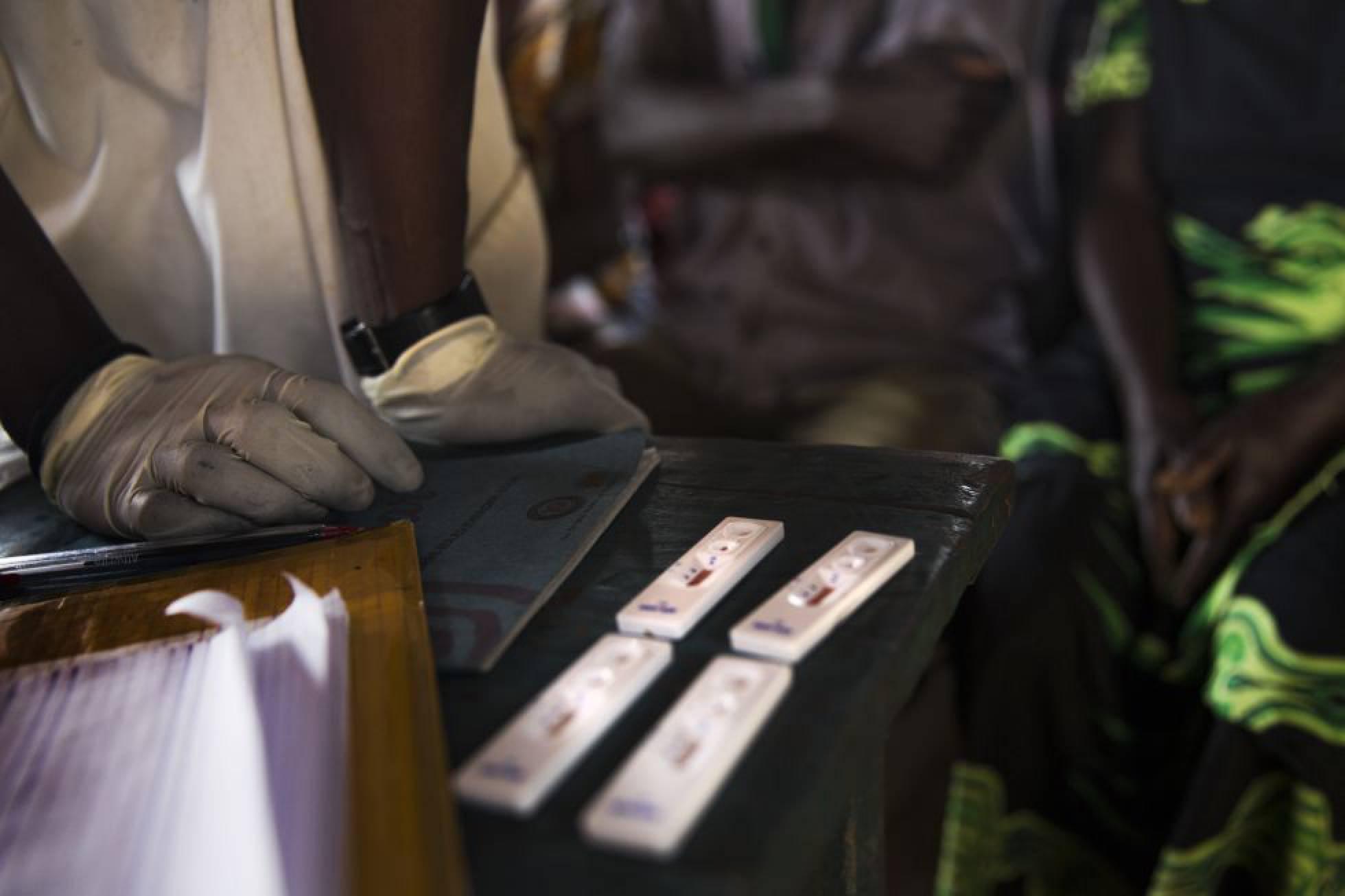 test de malaria