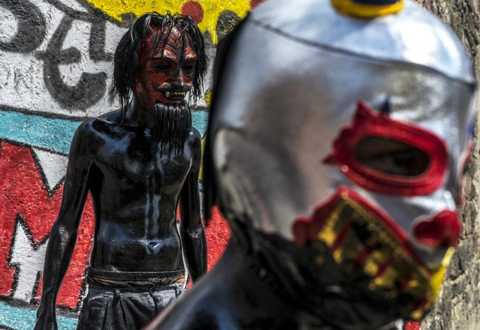 Xinacates, la fiesta de los sin ropa en México