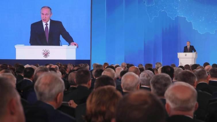Putin presenta un armamento nuclear que hace inútil el escudo antimisiles de EE UU