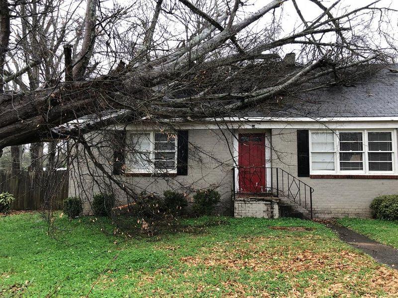 Fuertes vientos derriban árboles y líneas eléctricas en el este y centro de Alabama