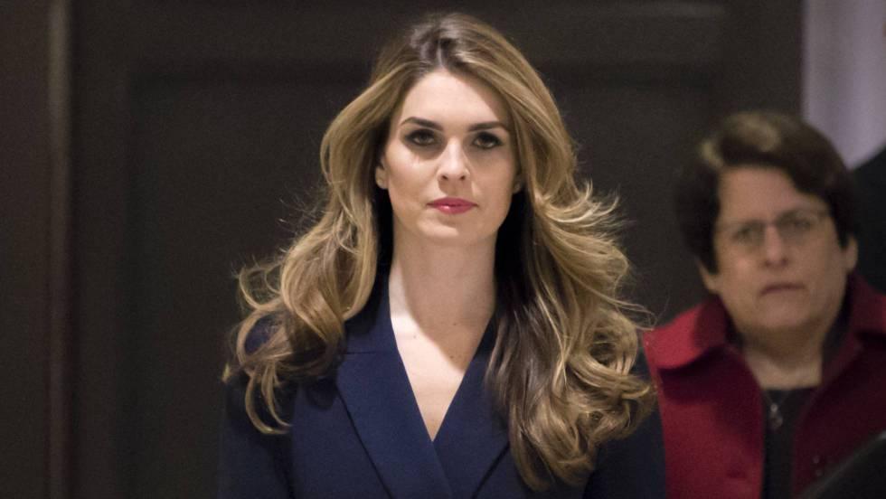 Renuncia Hope Hicks, la directora de Comunicaciones de Trump