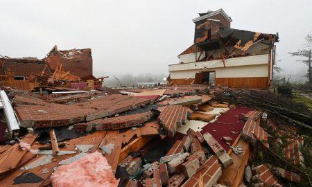 1 tornado damage in jacksonville alabama