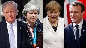 Trump, Merkel, May y Macron culpan a Rusia del ataque contra un espía en Londres