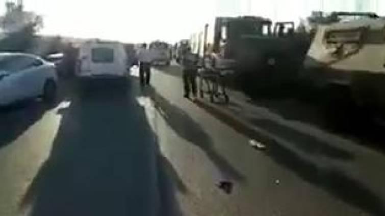 Al menos dos israelíes muertos y tres heridos, atropellados por un palestino en Cisjordania