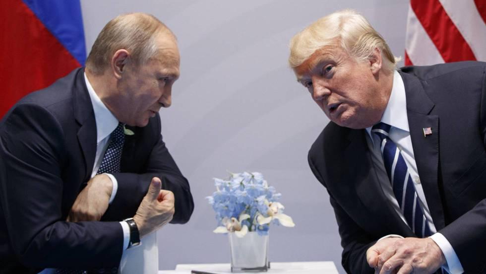 Putin y Trump 1