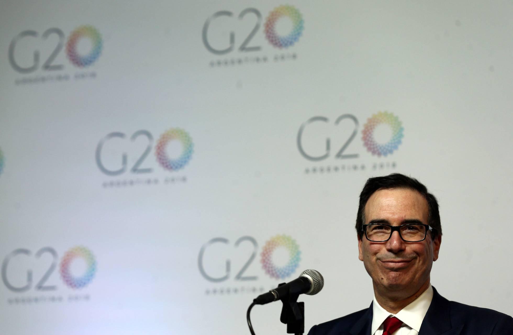 """EE UU desafía al G-20: """"No tenemos miedo a una guerra comercial dado nuestro tamaño"""""""