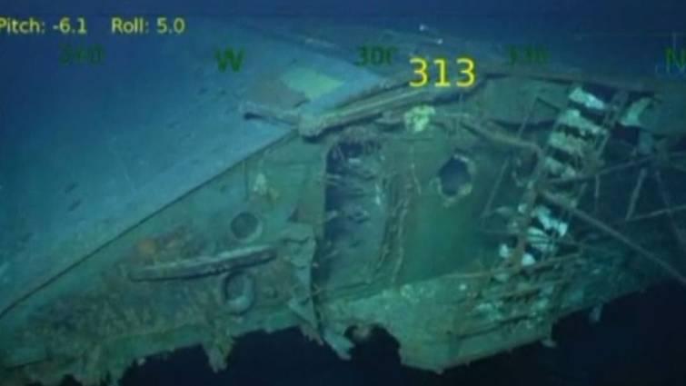 buque hundido