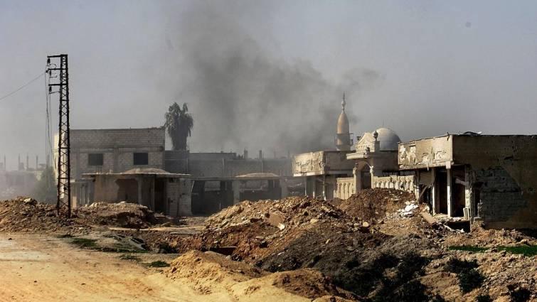 El convoy humanitario, en riesgo por bombardeos en Guta