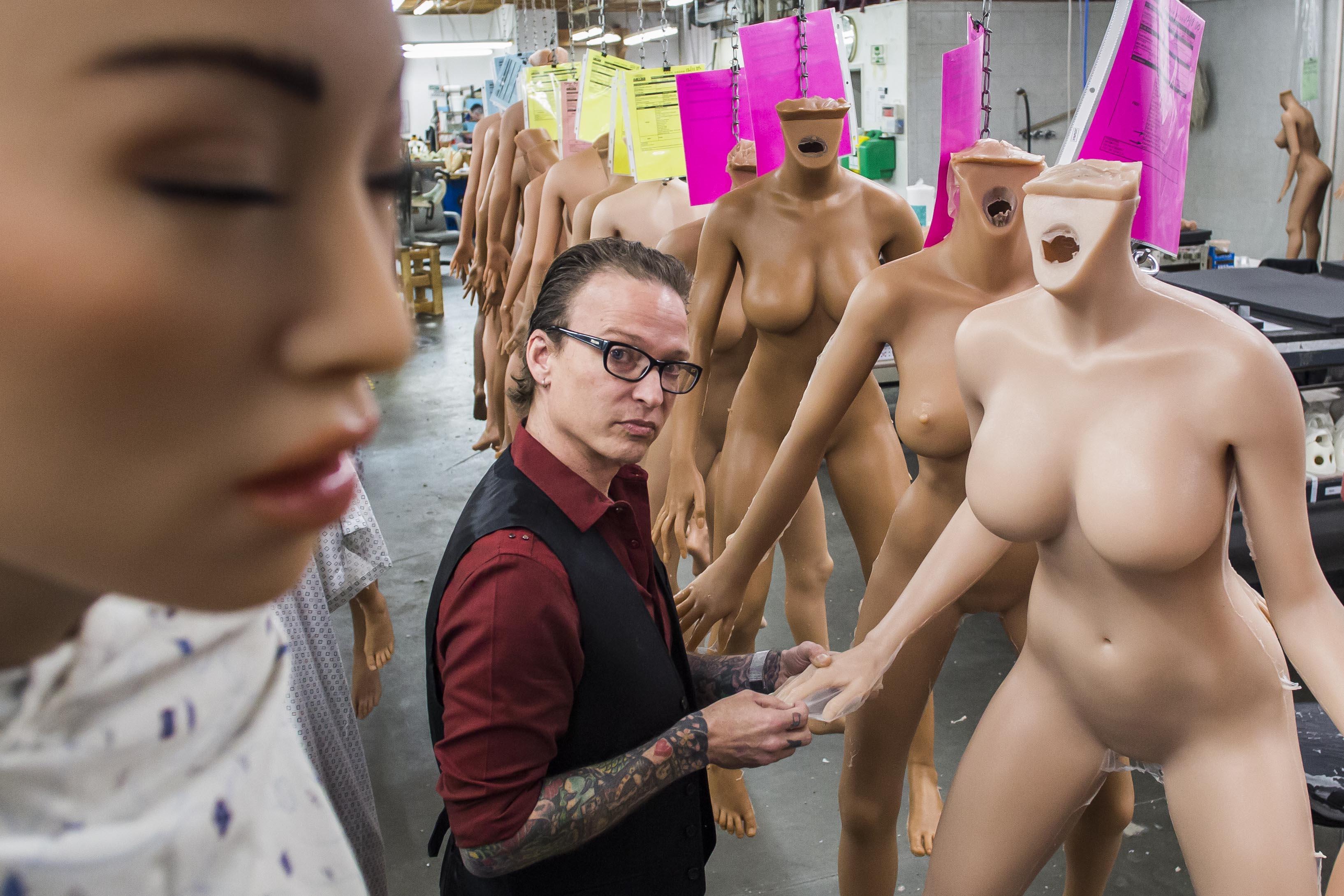 Muñecas inteligentes para sexo con humanos