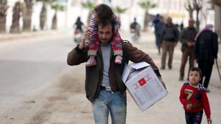 Catástrofe humanitaria en Siria, mientras Turquía consolida su poder en Afrin