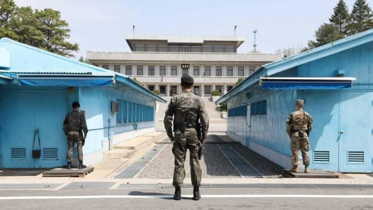 1 soldados en corea del sur