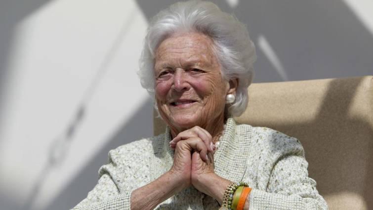 Barbara Bush muere tras años en estado de salud delicado