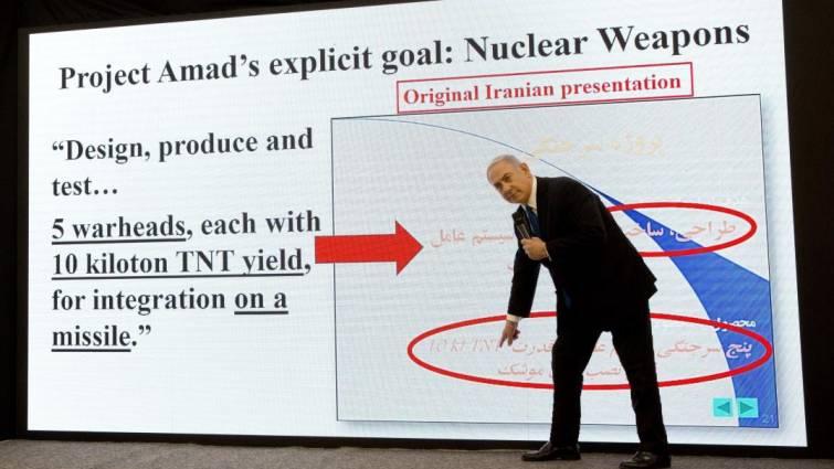 Netanyahu asegura tener pruebas de que Irán desarrolla armas nucleares