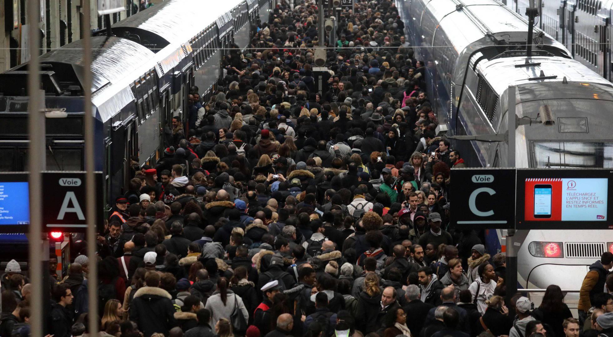 La Gare de Lyon en Paris