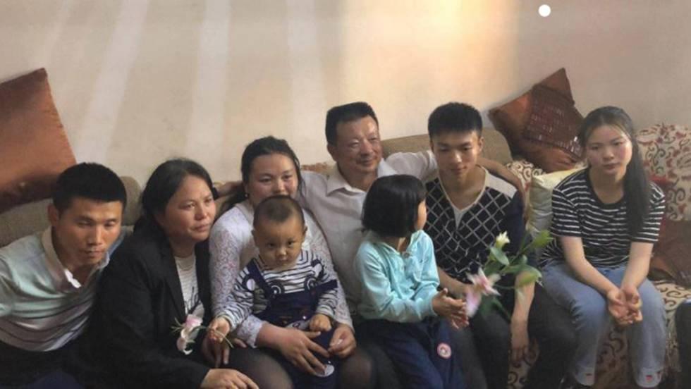 La familia Wang