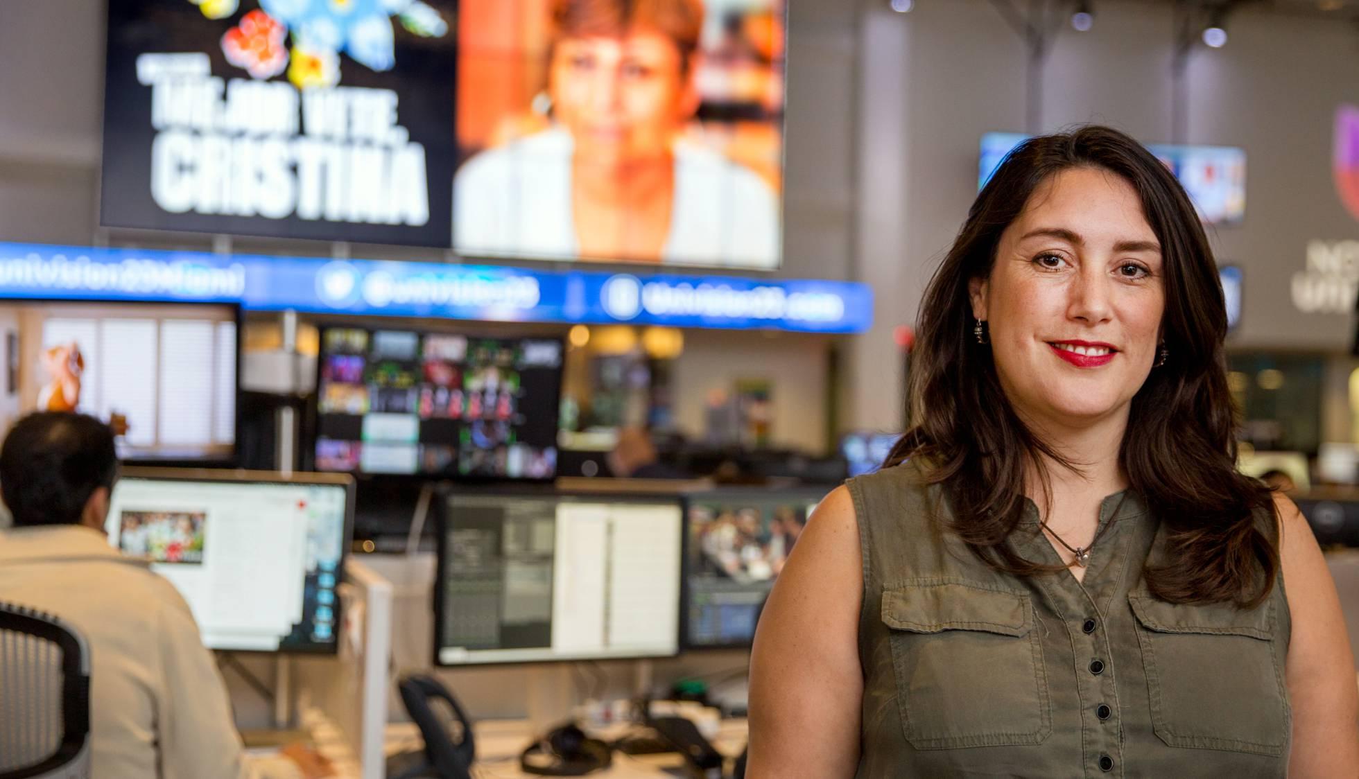 La periodista Inger Diaz