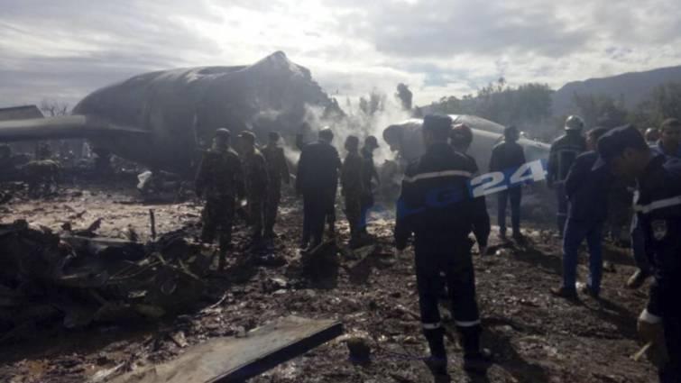 Al menos 257 muertos al estrellarse un avión militar cerca de Argel
