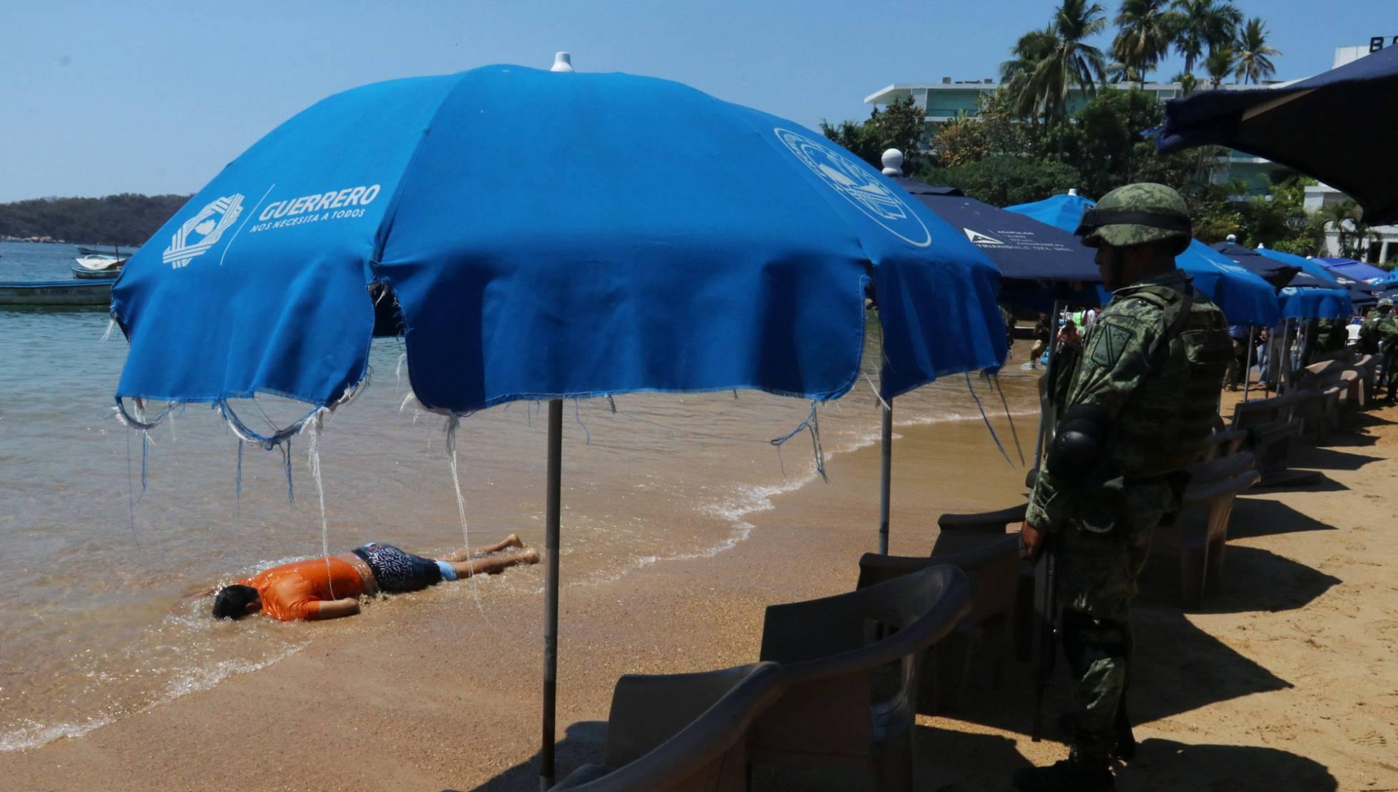 Un tiroteo en una de las playas más visitadas aterroriza Acapulco