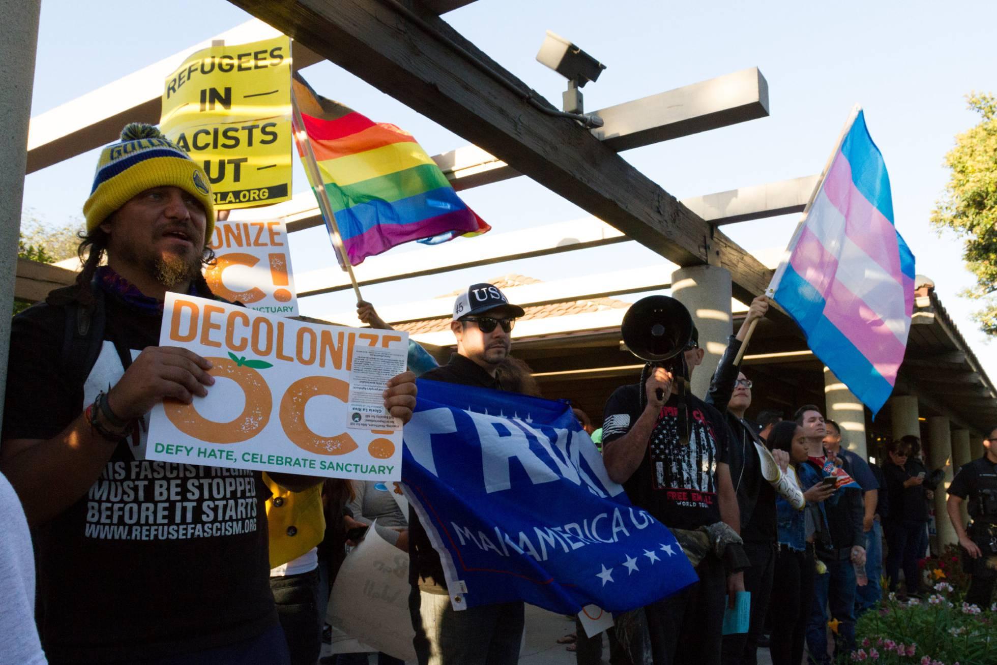 La resistencia contra la protección a los inmigrantes despierta en California