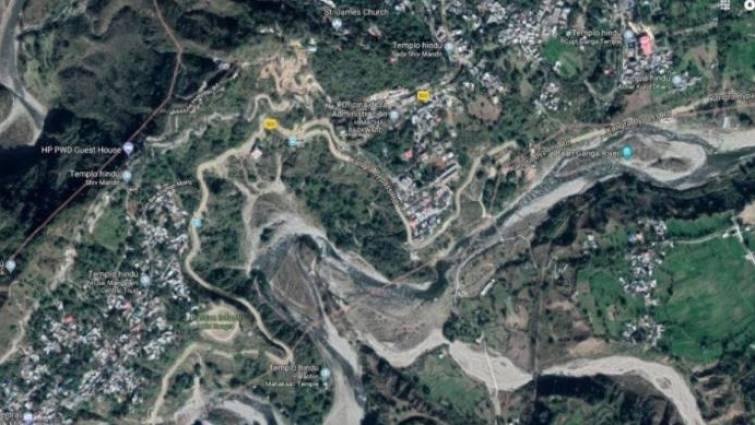 mapa lugar del accidente