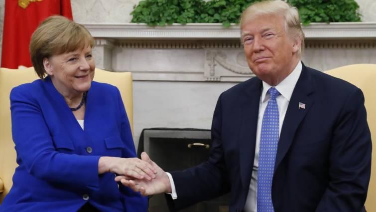 Trump y Merkel abordan el acuerdo nuclear con Irán en su encuentro en Washington