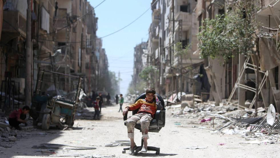 Siria dispara misiles defensivos ante la amenaza de una nueva incursión
