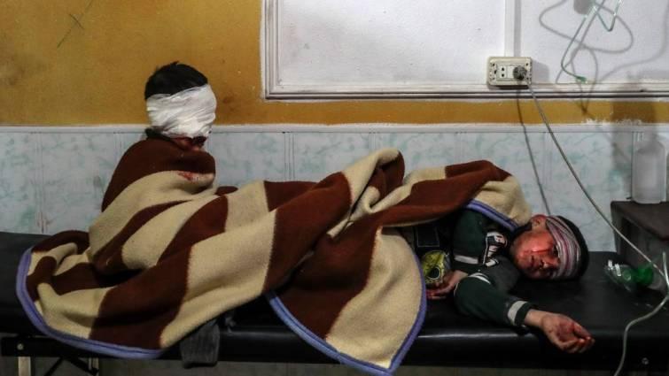 La OMS asegura que más de 500 sirios presentaban síntomas de ataque químico