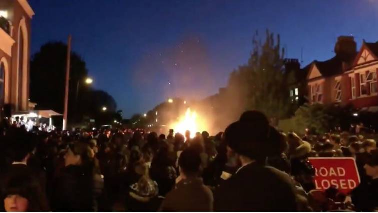 Al menos treinta heridos por una explosión durante una fiesta judía en Londres