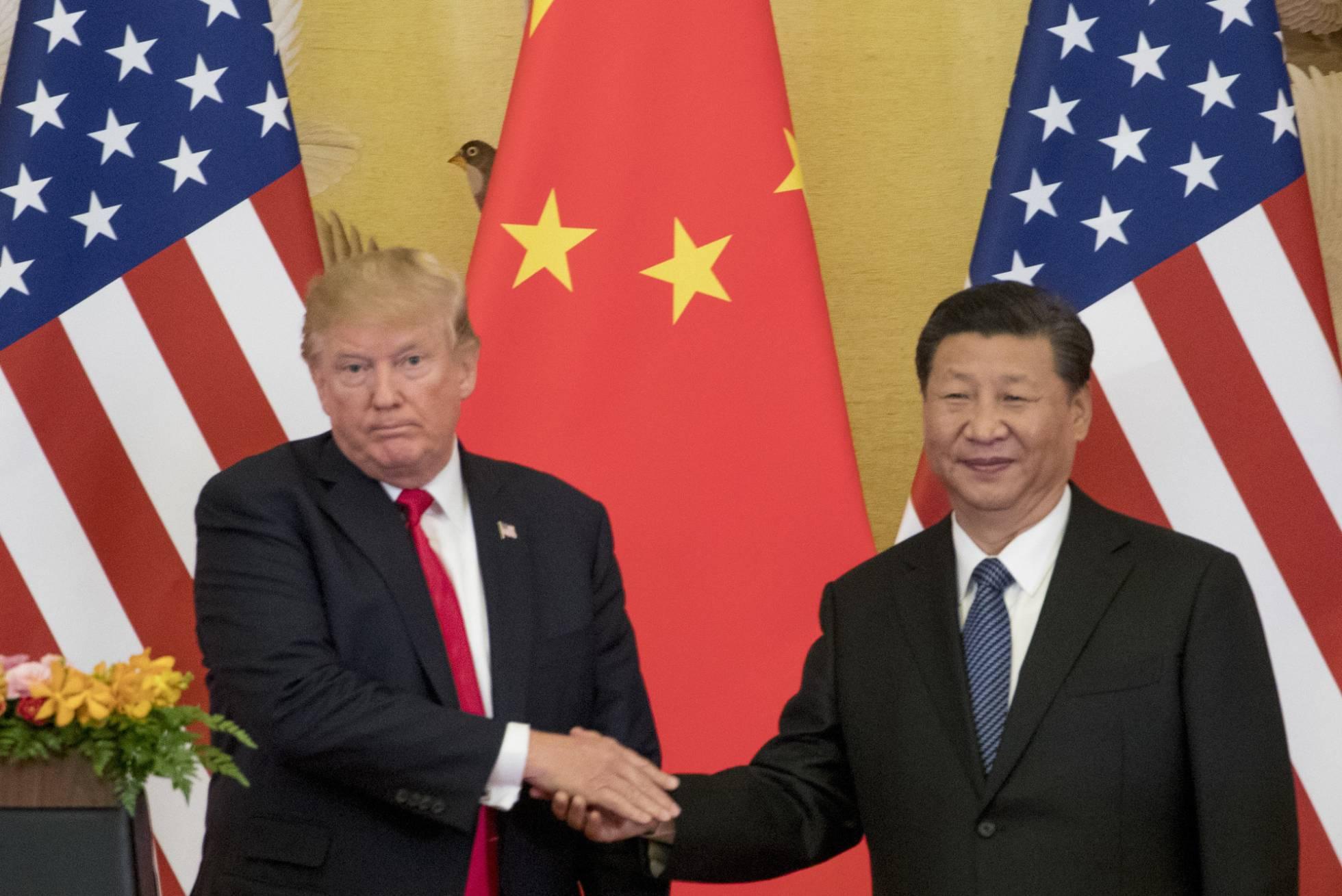 1 Donald Trump y Xi Jinping