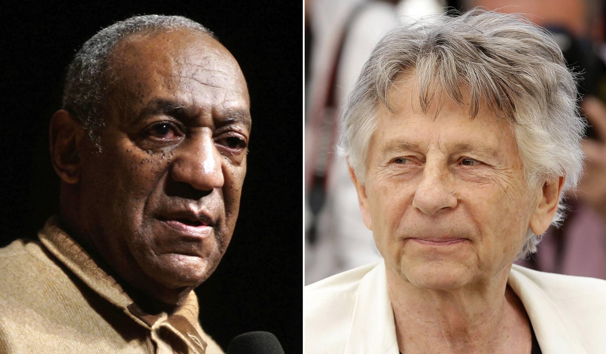 Bill Cosby y Roman Polanski