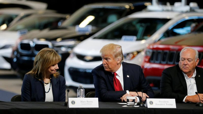 GM and Trump