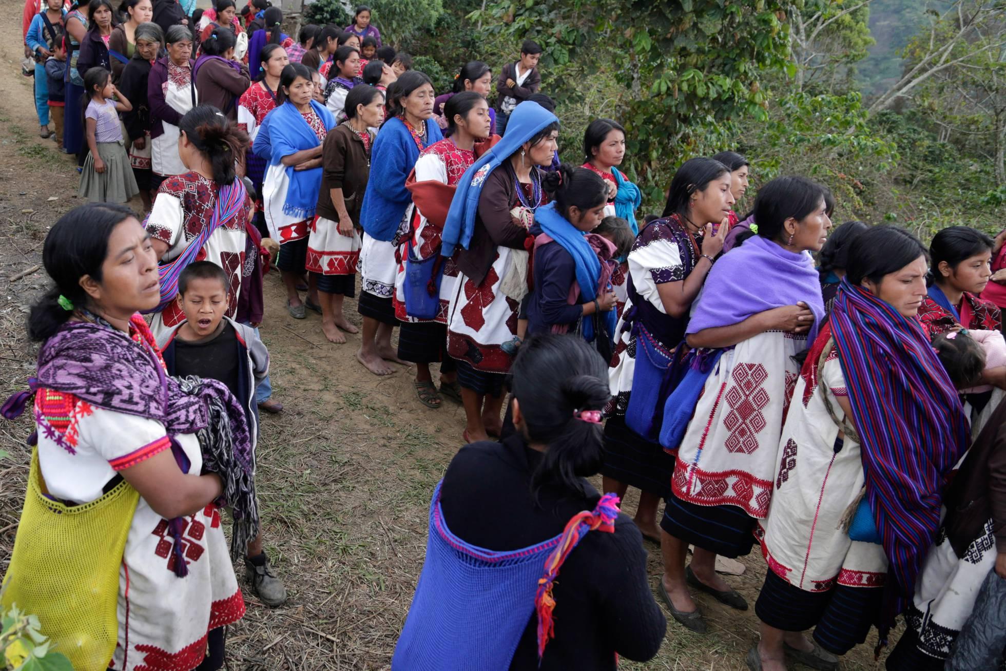 Muerte tras el éxodo, el destino de miles de indígenas desplazados en México