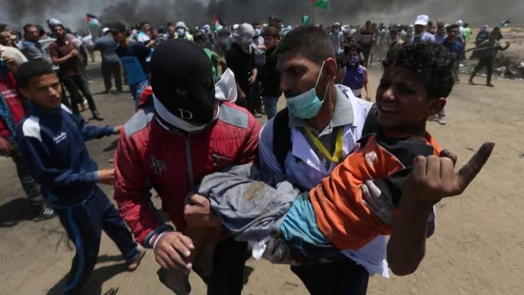 Al menos 55 muertos en los disturbios por el traslado de la embajada de EE UU