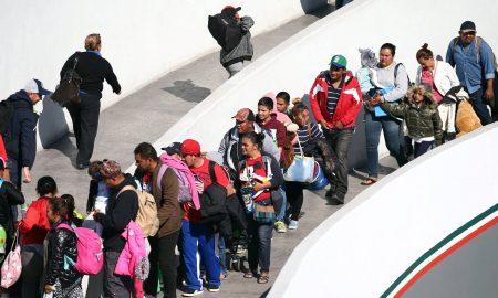 miembros caravana migrante