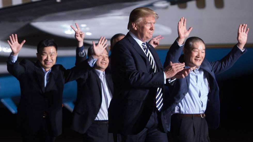 trump y los liberados