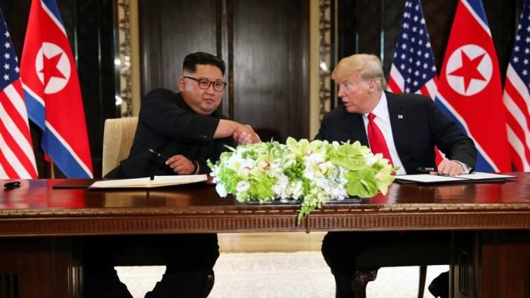 Trump y Kim firman una declaración conjunta que «cambiará el mundo»