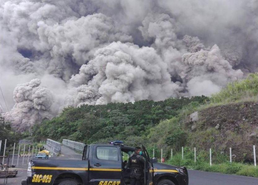 El Volcán de Fuego sume en una pesadilla a Guatemala