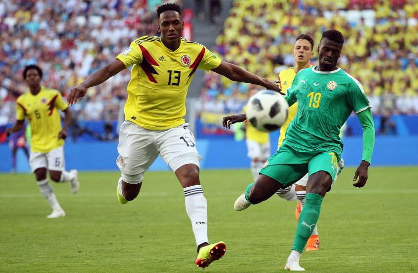 Colombia pasa a octavos como primera de grupo tras vencer a Senegal (0-1)