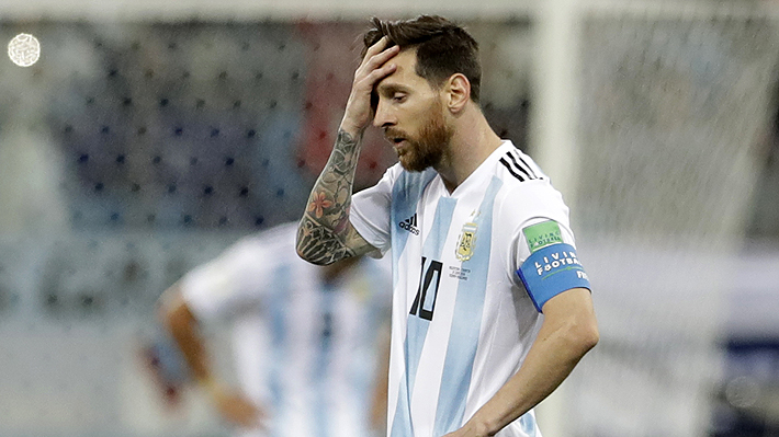 Argentina cae goleada ante Croacia (0-3) y queda al borde de la eliminación
