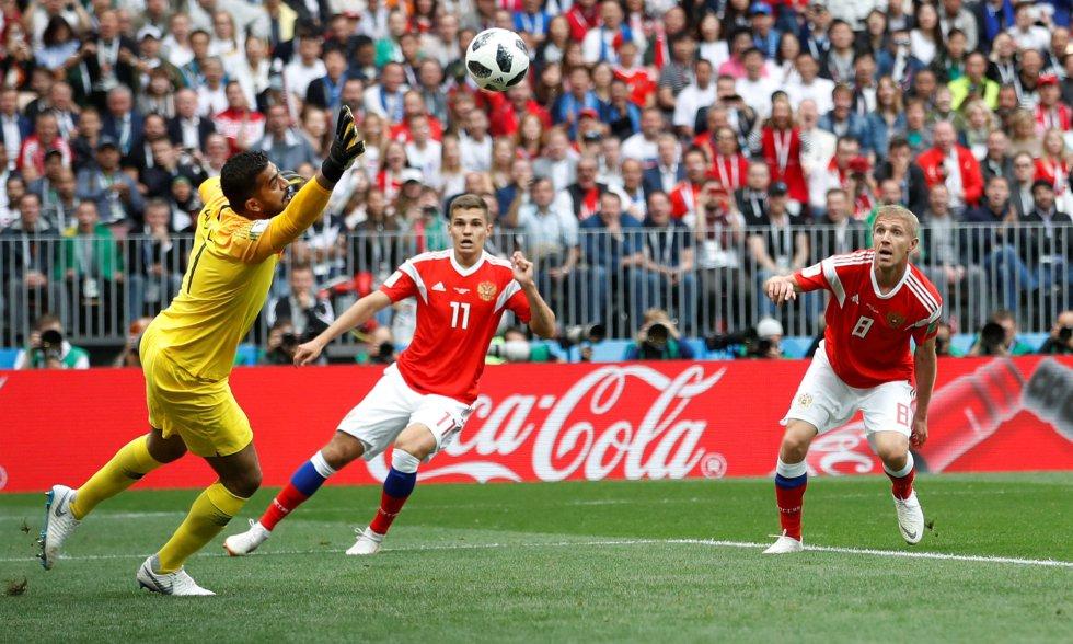 Rusia brinda una goleada a Putin (5-0)