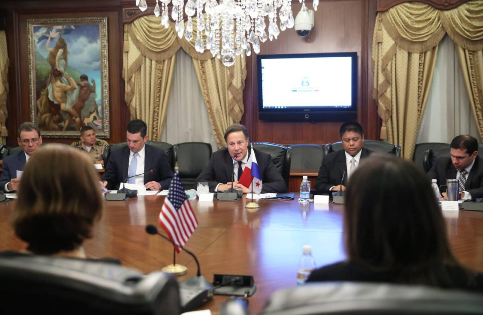 Panamá y EE UU crean una fuerza conjunta para afrontar la migración irregular